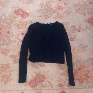 Tahari Cropped Sweater